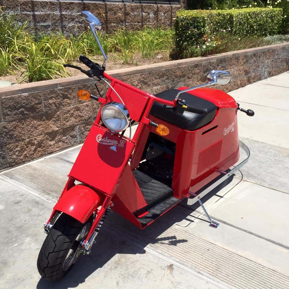 scooters in california