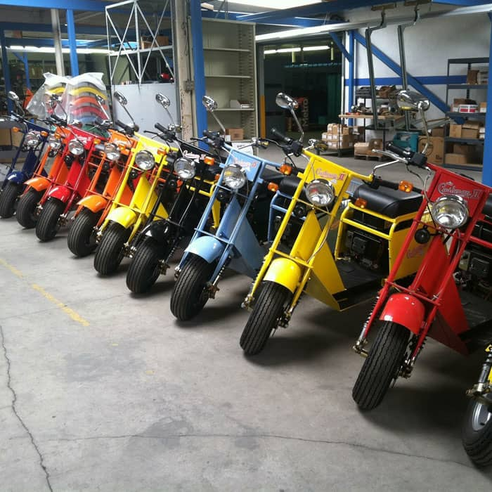 Motor scooters in california